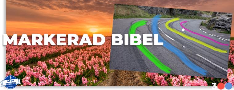 markerad bibel