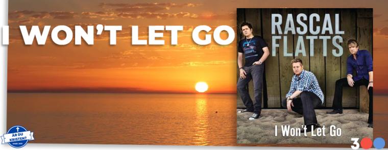 I WONT LET GO